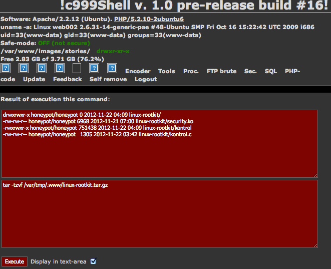 Rootkit folder