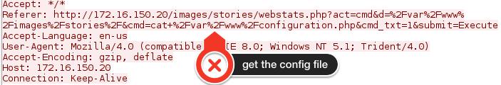 Joomla config file
